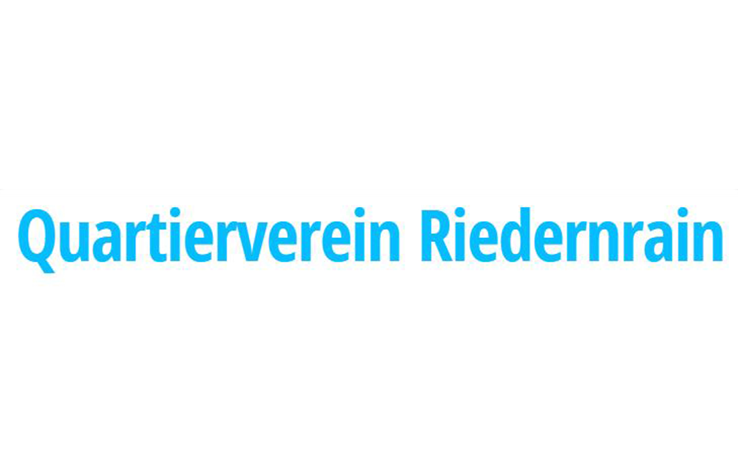 Logo Quartierverein Riedernrain